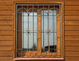 фото решеток на окна сварные